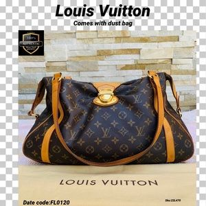 Louis Vuitton tote bag stresa GM monogram handbag